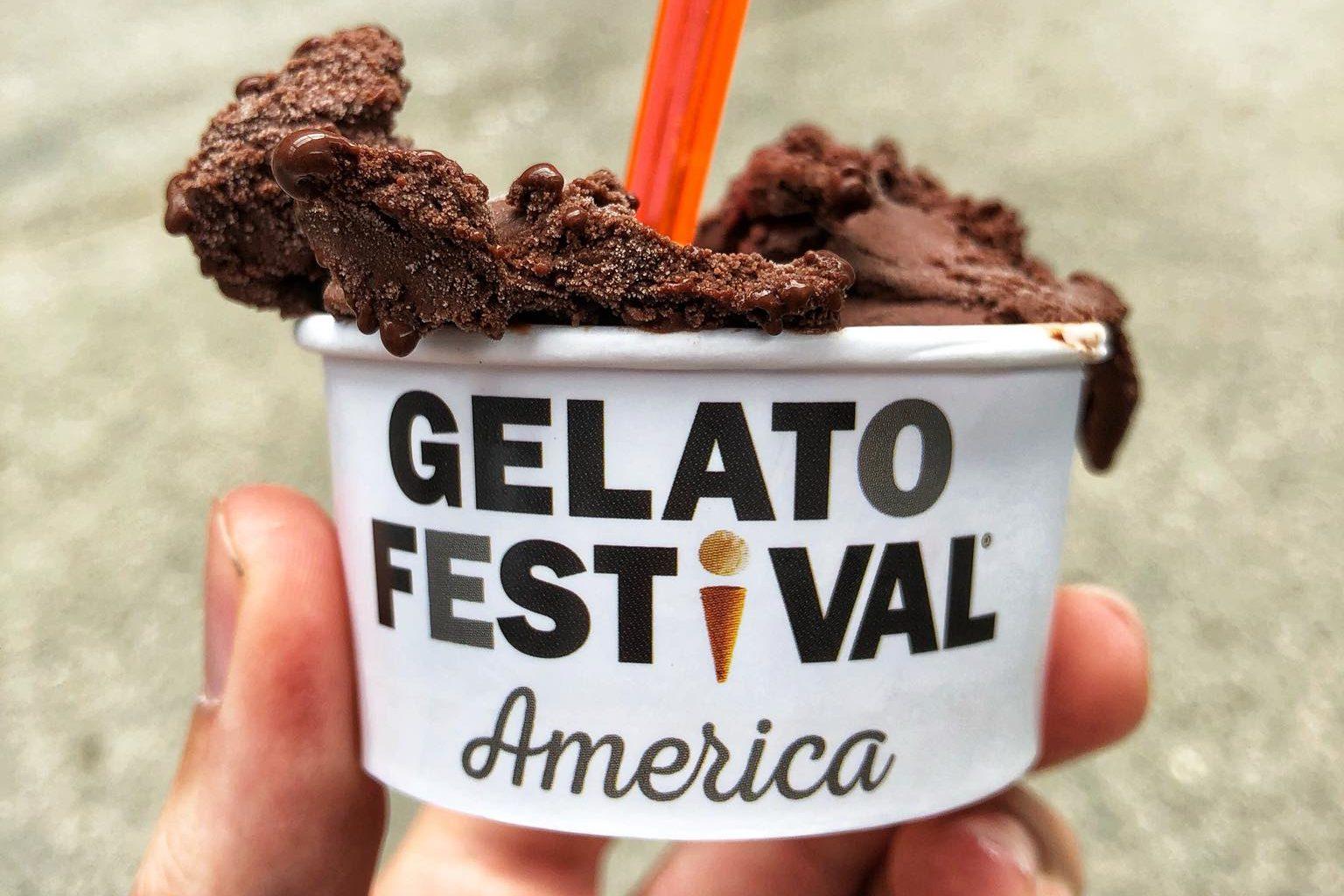 Gelato Festival America Jersey City, New Jersey 2018 Foodist @foodisteats