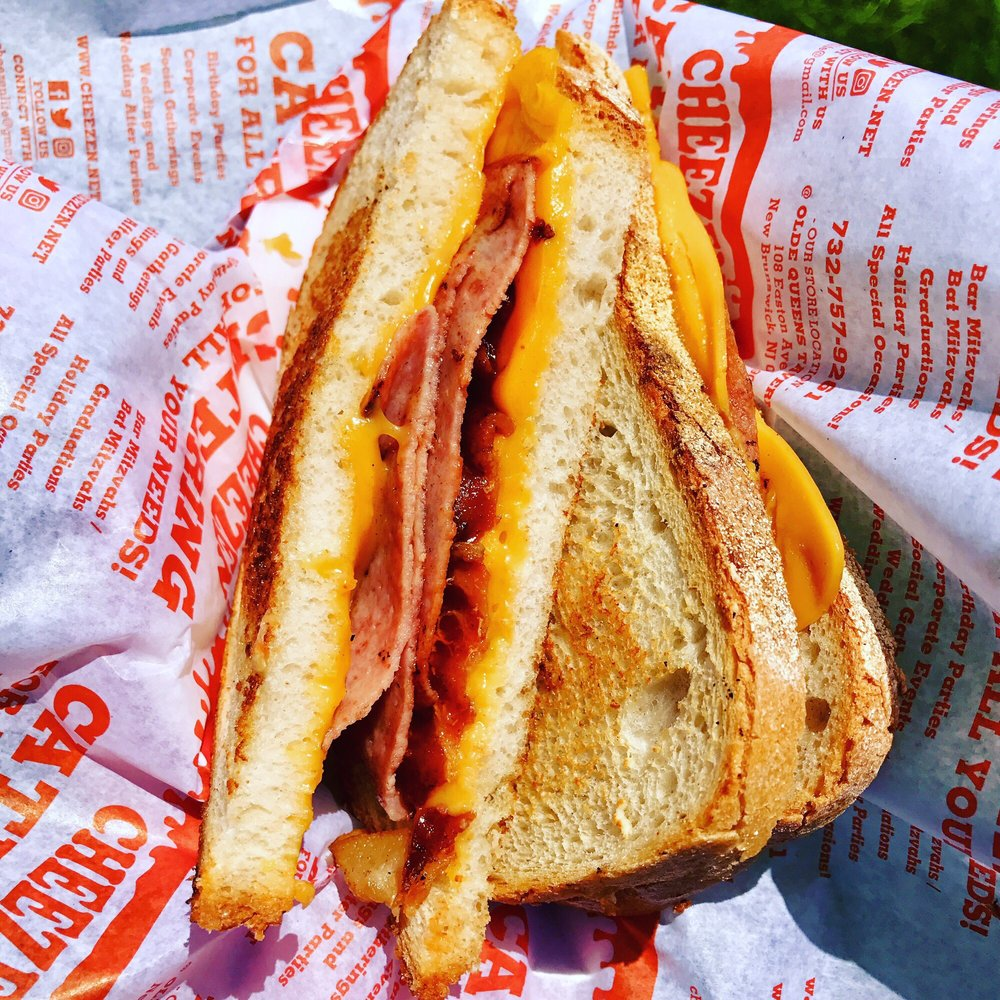 The Pigout Grilled Cheese