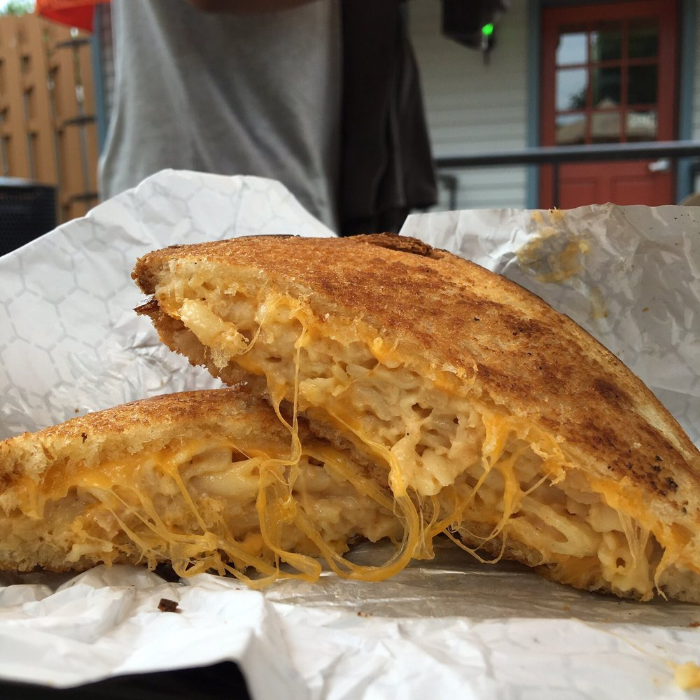 Grilled Cheese from Say Cheez Cafe