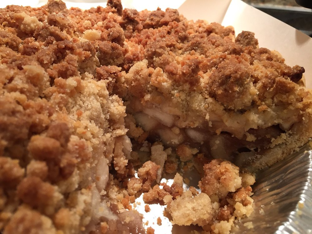 Apple Crumb Pie from Hainesville General Store in Branchville, New Jersey
