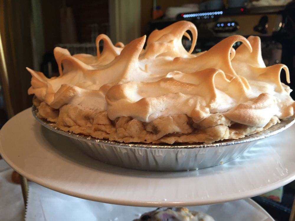 Lemon Meringue Pie from the Pie Lady Cafe in Moorestown, New Jersey